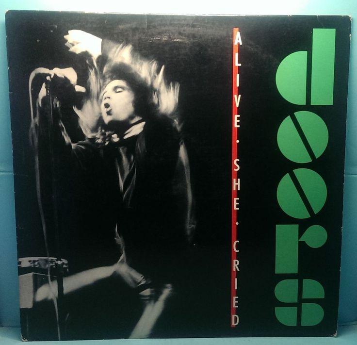 "The Doors Alive She Cried Record LP 1983 Elektra 60269 VG+/VG+ 33 RPM 12"" Vinyl  #BluesRock http://stores.ebay.com/cjvintagevinyl"