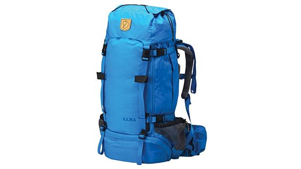The Fjallraven Kajka 75 backpack swallows enough gear for a week in the backcountry, but its birch frame is as strong and light as aluminum.
