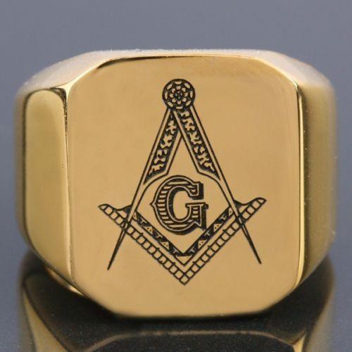 Freemasonry Mason Master Gold Ring #Freemasonry #masonic #masons @ring #knight #freemason #masons