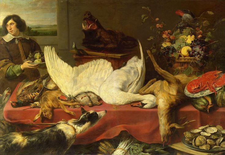 Натюрморт с лебедем (1640-е) (Москва, ГМИИ им.Пушкина)