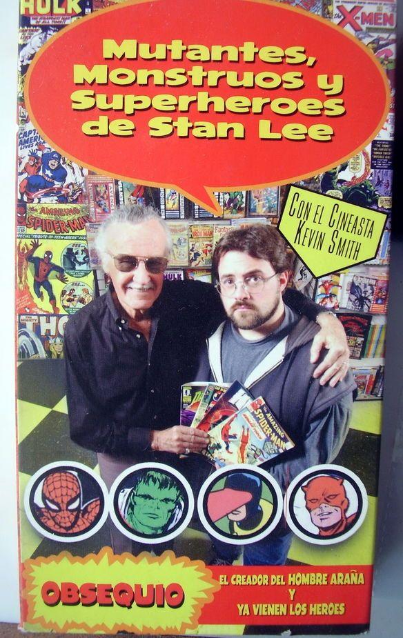 Stan Lee documental Monstruos y Superheroes VHS + DVD