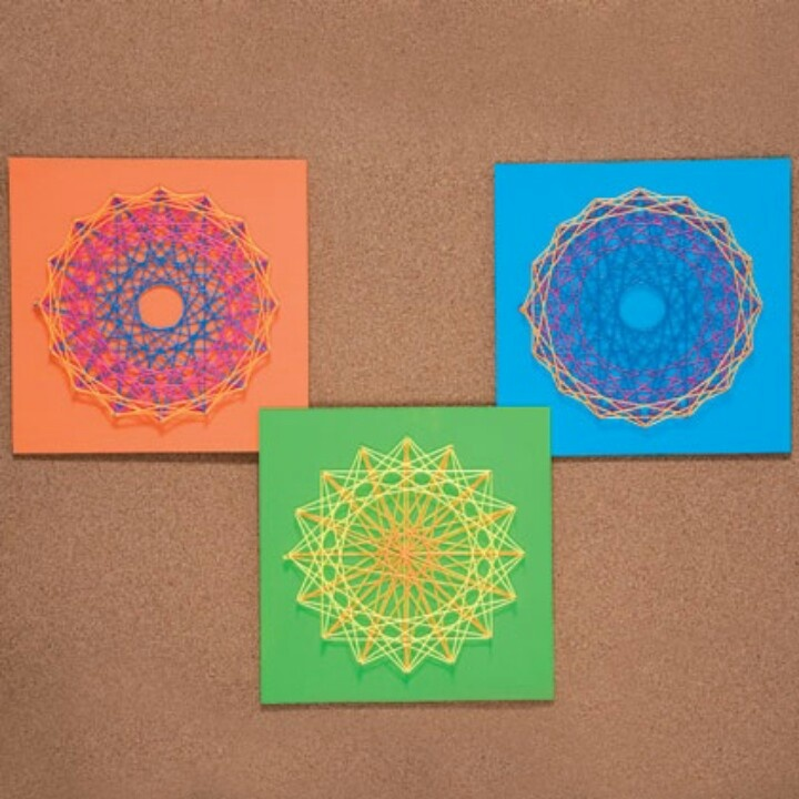 17 best images about string art on pinterest sweet home for String craft patterns