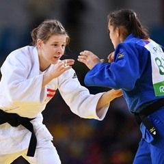Women's 70 kg Elimination Round of 16 Judo event at Rio Olympic Games