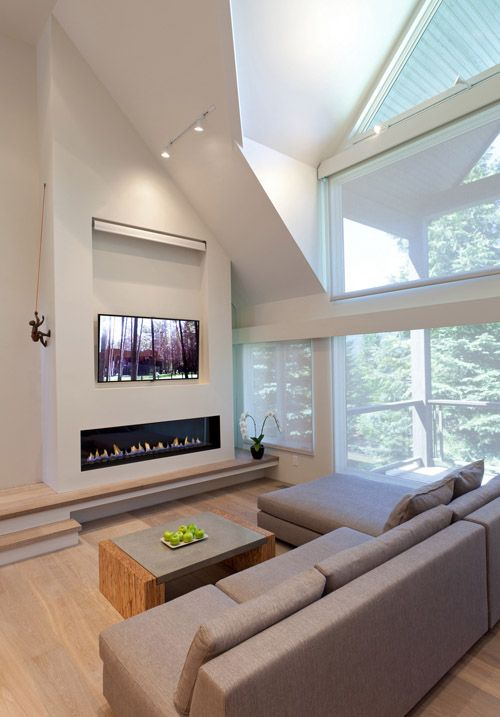 17 Best Images About Fireplace On Pinterest Modern