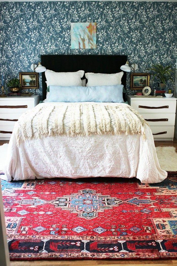 schlafzimmerideen ~ verschiedenes interessantes design für ein ... - Kchenwandgestaltung