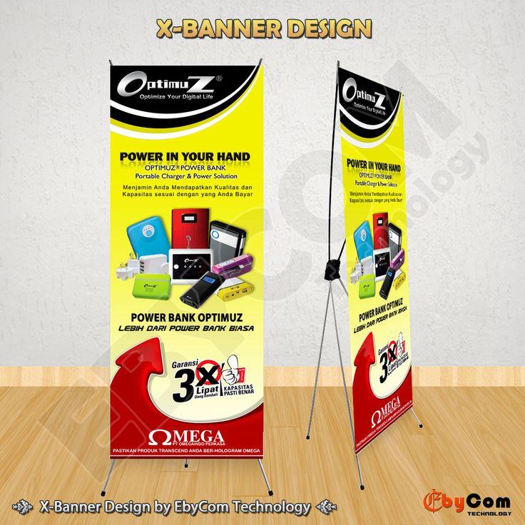 jasa pembuatan desain x banner untuk promosi pameran