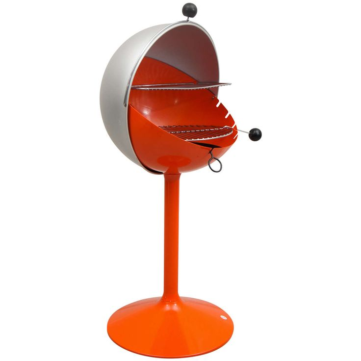"1960's ""Ball B Q Grill"" by Bill Wiggins, Never Used 
