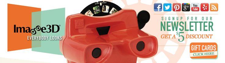 Reel Builder|Custom Viewmaster, 3D Custom Reels, Photo Maker, & More | Everybody Looks! | Image3D