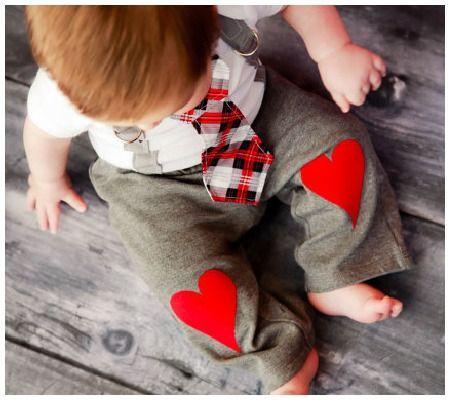 heart pants.
