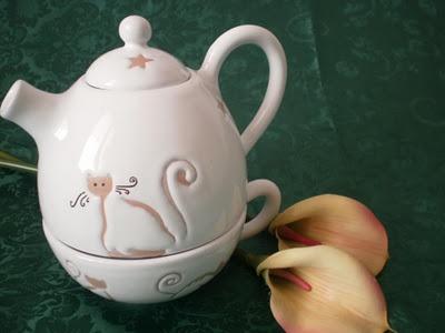 Teiera con tazza di Annarita - (Annarita's teapot with cup)