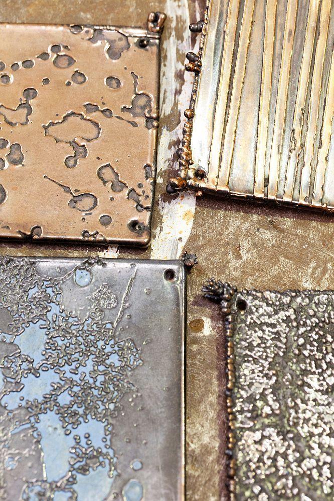 Metallic patterns, See more texture inspirations at http://www.brabbu.com/en/inspiration-and-ideas/ #LivingRoomFurniture #LivingRoomSets #ModernHomeDécor