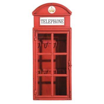 Ящик для ключей London Telephone