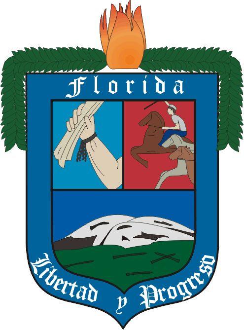 Escudo del Dpto de FLORIDA .