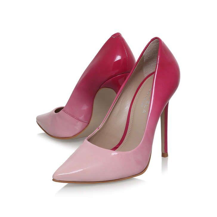 Alice Pink High Heel Court Shoes By Carvela Kurt Geiger | Kurt Geiger