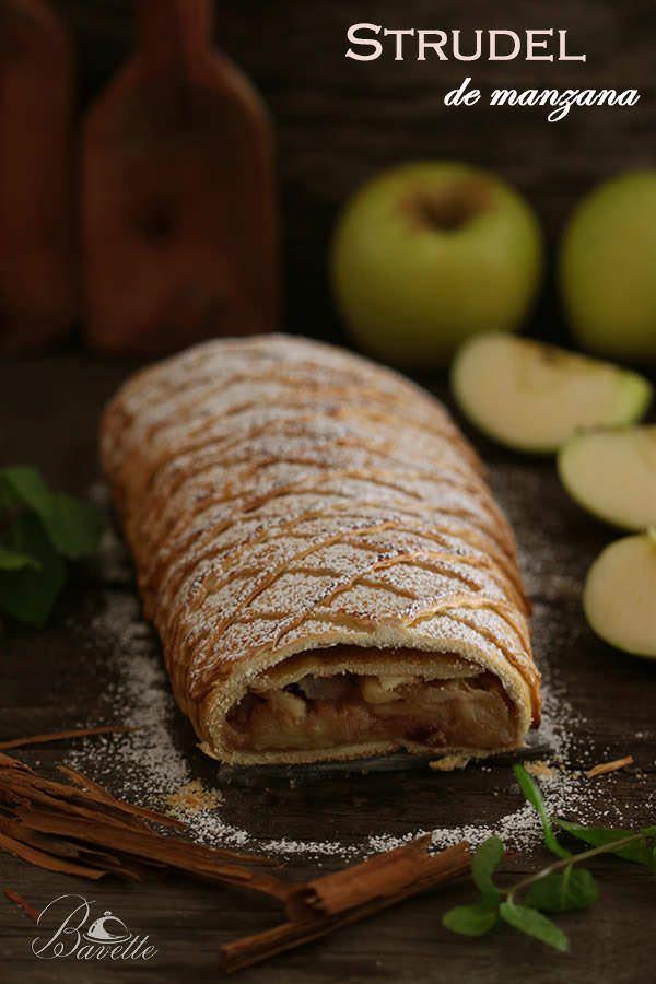 Apfelstrudel o strudel de manzana | Bavette