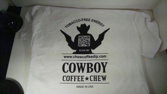 Cowboy Coffee Chew T-Shirts