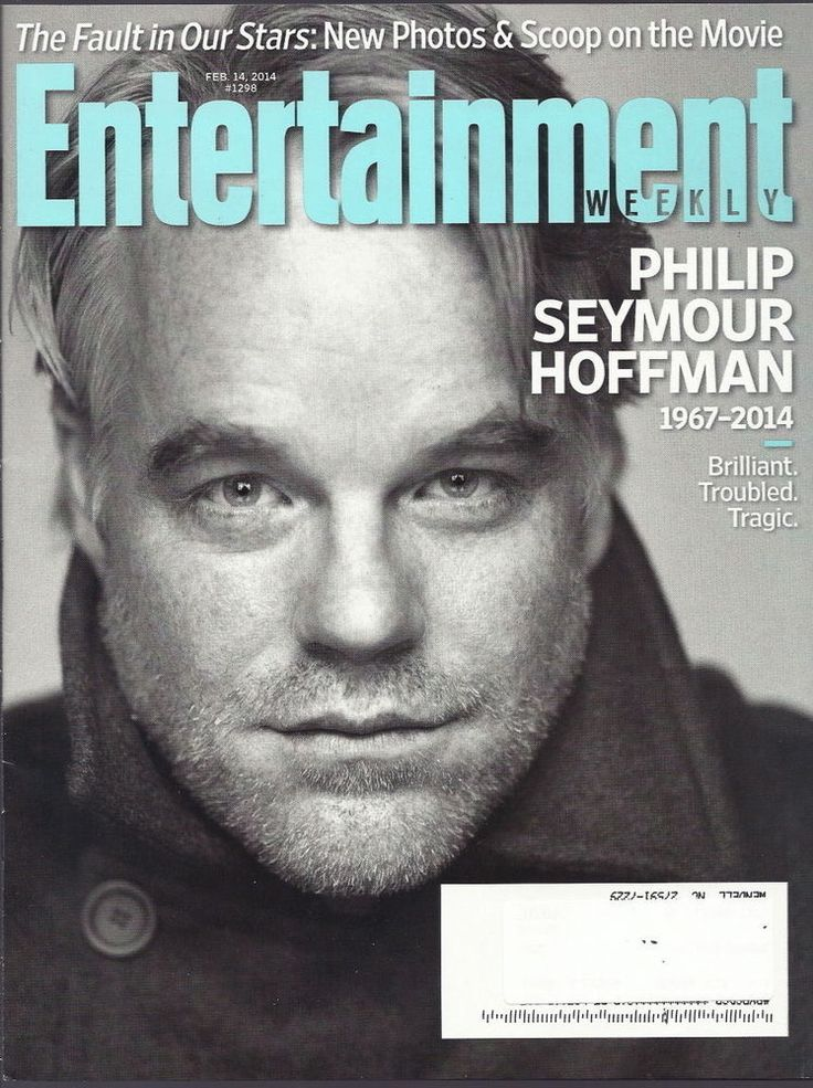 Philip Seymour Hoffman Entertainment Weekly Feb 2014 B.J. Novak The Americans