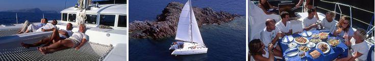 Santorini Sailing Blue Lagoon 1 40' Catamaran