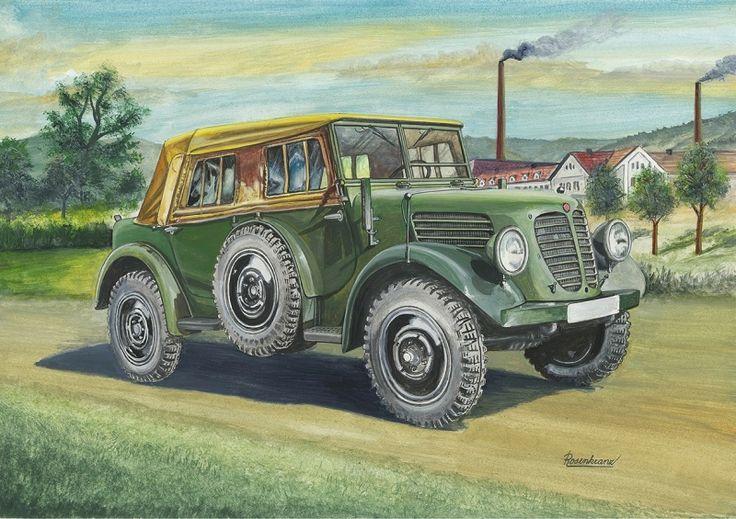 Tatra 809 – prototyp čtyřmístného velitelského vozu (1939). Vozy měly na bocích karosérie umístěna otočně rezervní kola (sloužila jako  pomocná nájezdová). Motor: řadový, čtyřdobý zážehový čtyřválec chlazený vzduchem.Vrtání/zdvih – 85/95 mm, zdvihový objem 2474 ccm. Rozvod OHC. Výkon 50 k (36,8 kW) / 3500 ot. / min. Spojka suchá jednolamelová - Comet HZ 18. Čtyřstupňová mechanická převodovka + přídavná sestupná, dvojstupňová. Uzávěrky diferenciálů, vypínatelný přední náhon.