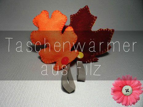 DIY Taschenwärmer Pocket warmer nähen sew tutorial anleitung