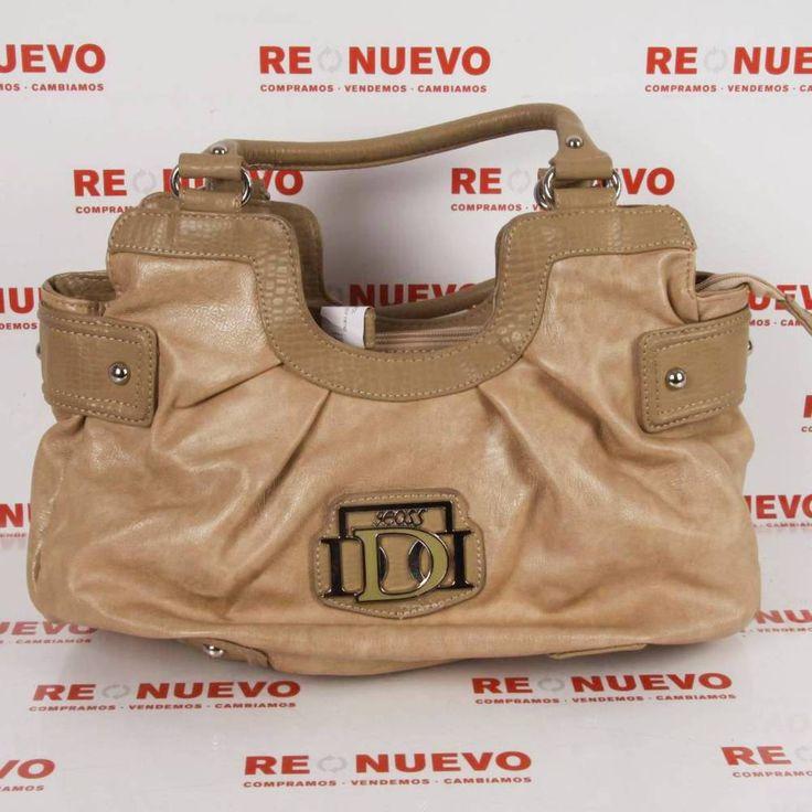 #Bolso color camel de segunda mano. E272715 | Tienda online de segunda mano en Barcelona Re-Nuevo #segundamano