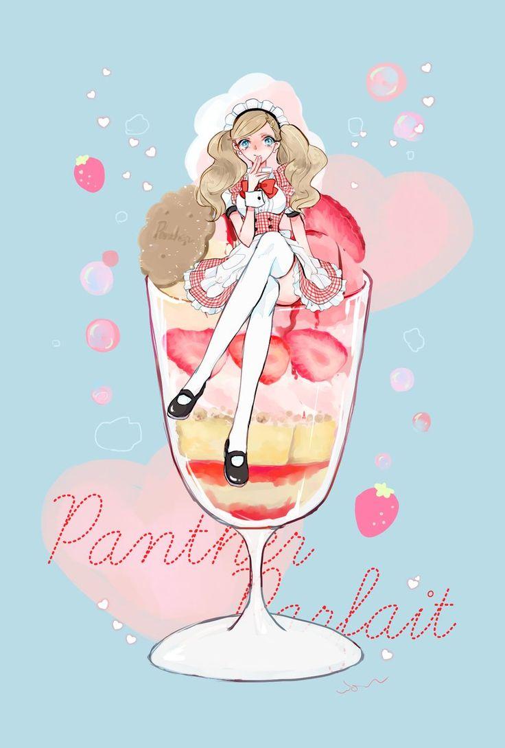 Parfait ♥ Ann | Persona 5 by @vio_mas on Twitter