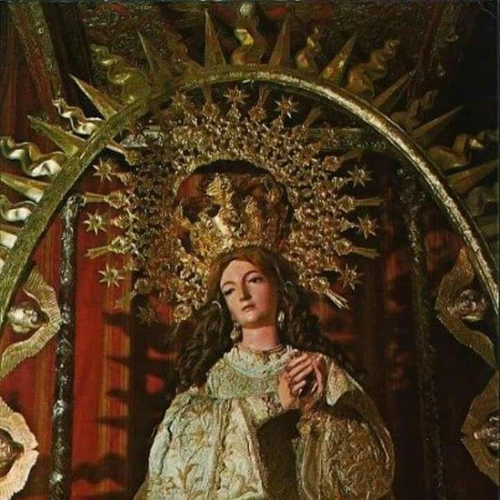 Inmaculada Concepcion Coronada San Cristobal De La Laguna Islas