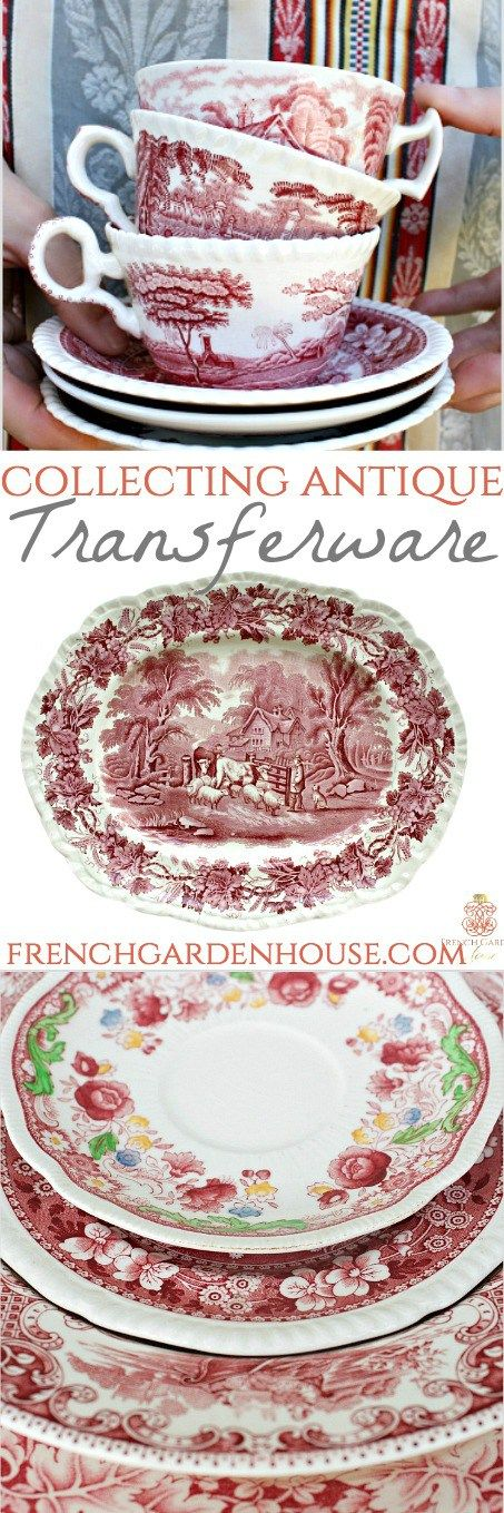 How To Collect Antique Transferware