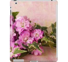 iPad Case/Skin. #stocks #scentedstocks #pinkstocks #pinkscentedstocks #stockflowers #pinkstockflowers #flowersandivy #flowersandribbon #flowers #pinkflowers #sandrafoster #sandrafosterredbubble