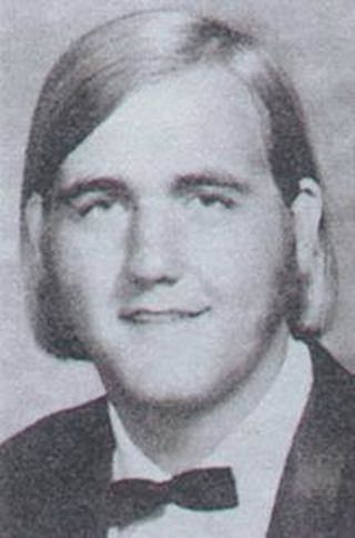 Young Hulk Hogan before he was famous yearbook picture