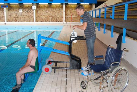 17 best images about pool hoists on pinterest technology - Swimming pool wheelchair lift law ...