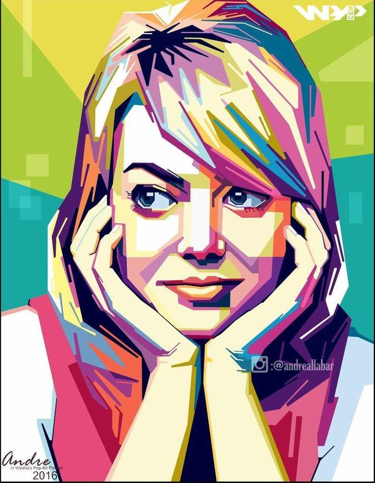 WPAP Pop Art By @andreallabar