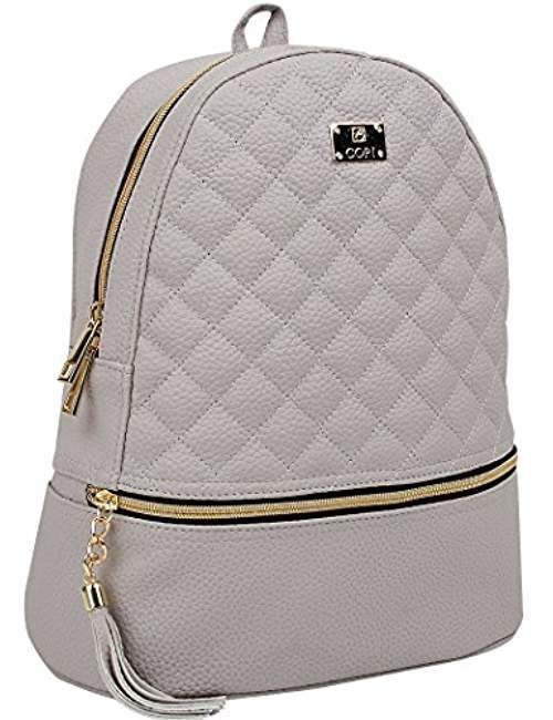 Women s Simple Design Fashion Quilted Casual Backpack c3693aeb8a69f