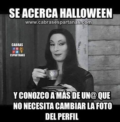 Perfíl con foto que da miedo para Halloween