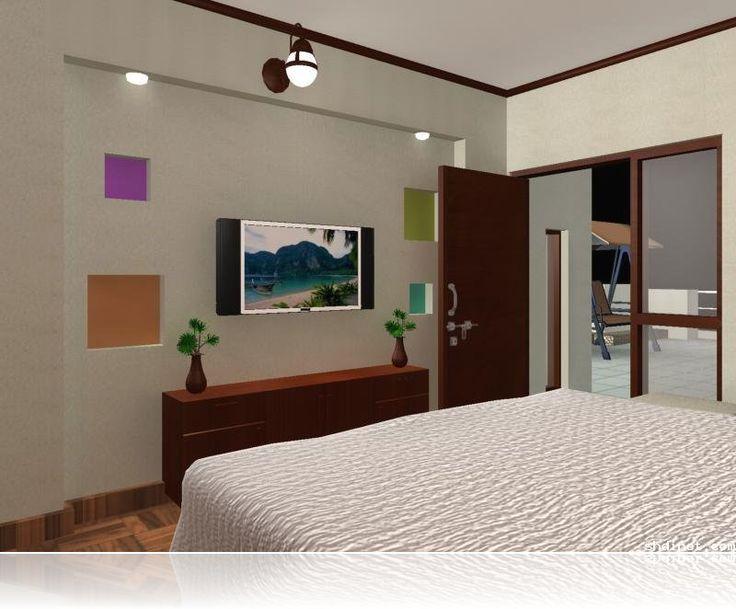 Simple Home Design Ideas Part - 42: Bedroom Tv Unit Ideas | Small Home Design Ideas