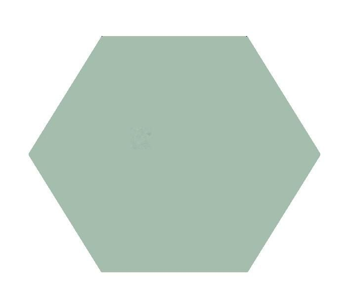 Heritage Solid Color Light Turquoise Cement Tile