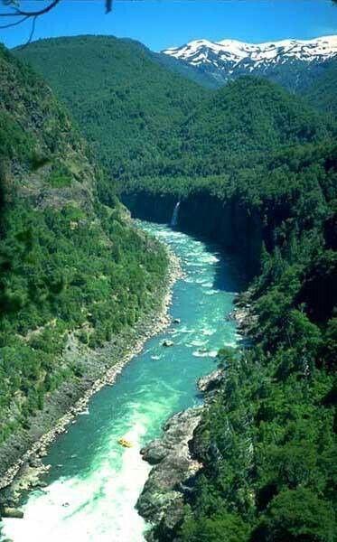 Río Bio Bio en la región del mismo nombre