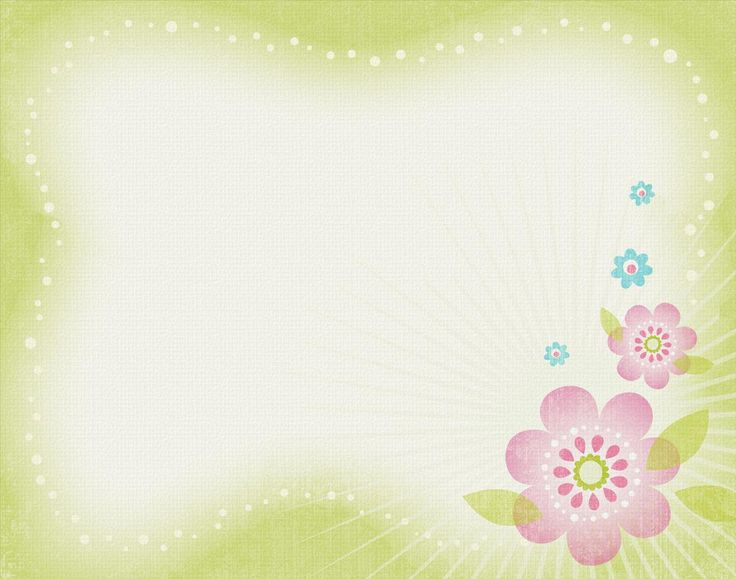 Picaboo Free Backgrounds View Entry Flower Frame Frame Background Floral Border