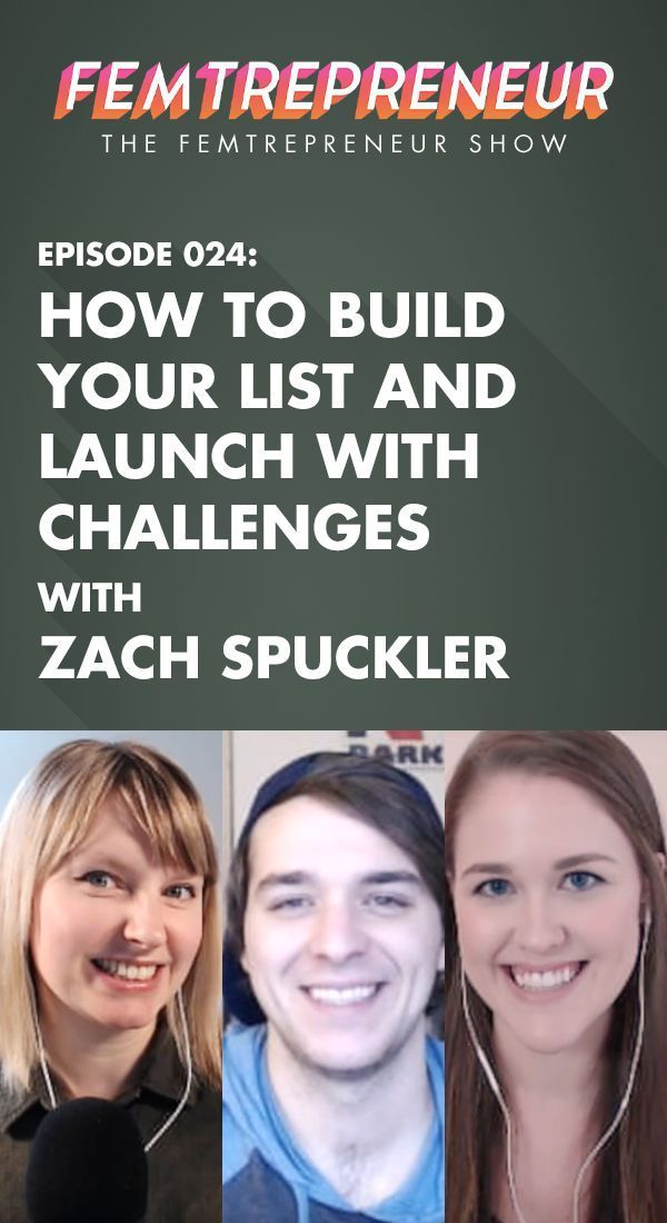 """In this episode, we're talking with Zach Spuckler who is the founder of Heart, Soul & Hustle. If you're wondering what it's like to have a super successful launch, a """"failed"""" launch, or want to learn more about challenges, Zach is going to cover it all. He provides a super unique perspective to the definition of what online business can look like!   The Femtrepreneur Show Episode 24"""