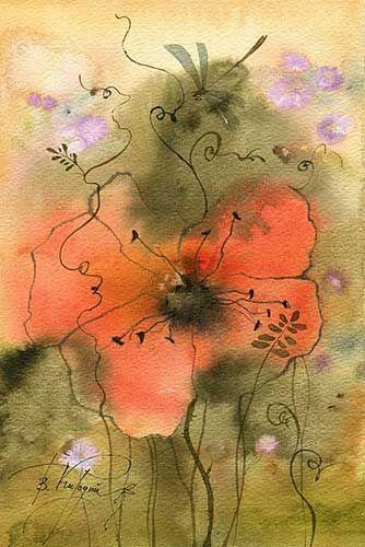 ленивый цветок (Виктория Кирдий)