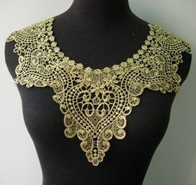 Lace Necklace (Gold) | Trade Me