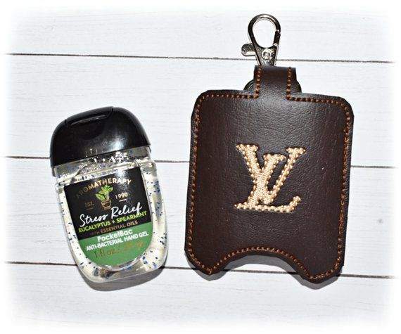 Designer Inspired Hand Sanitizer Holder Pocketbac Holder