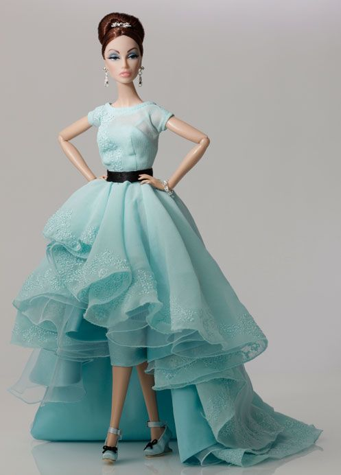 The Fashion Doll Chronicles   ITS TURQUOIS!!