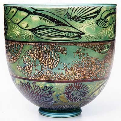 """Timothy Harris [Isle of Wight Glass]  """"Graal"""" Bowl: Art Glasses Contemporary, Glasses Vase, Glasses Graal, Studios Glasses, Beautiful Glasses, Glasses Art, Wight Glasses, Glasses Pottery China, Design Glasses"""