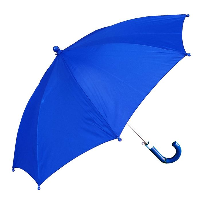 Shelta Classic Childrens Kids Auto Royal Blue umbrella features an automatic push button open and beautiful canopy and handle. Perfect for your little one!