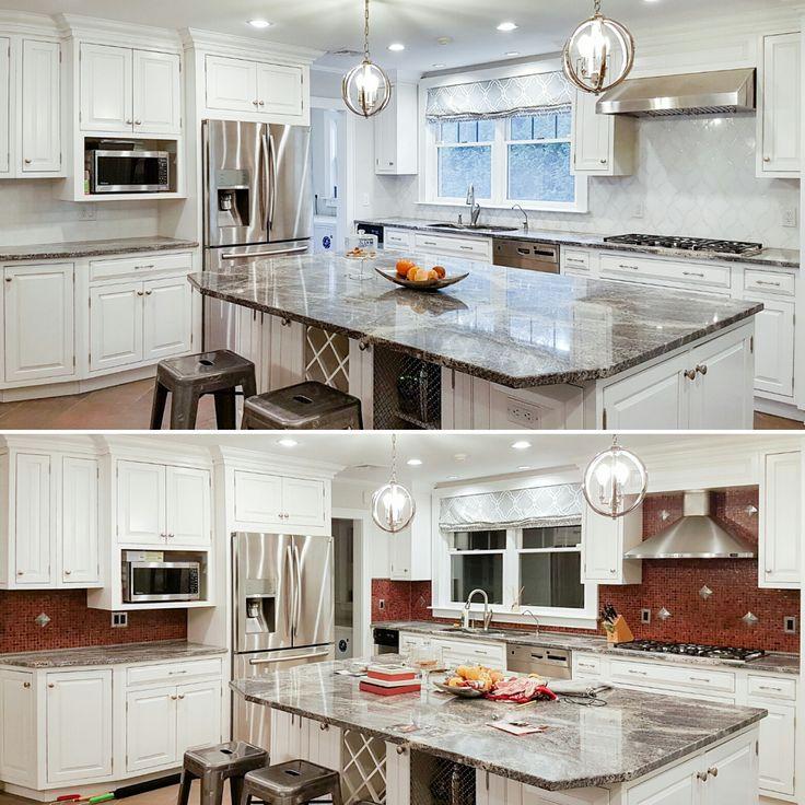 Kitchen Backsplash Stone Tile Ideas: 17 Best Images About Backsplash Tile Ideas On Pinterest