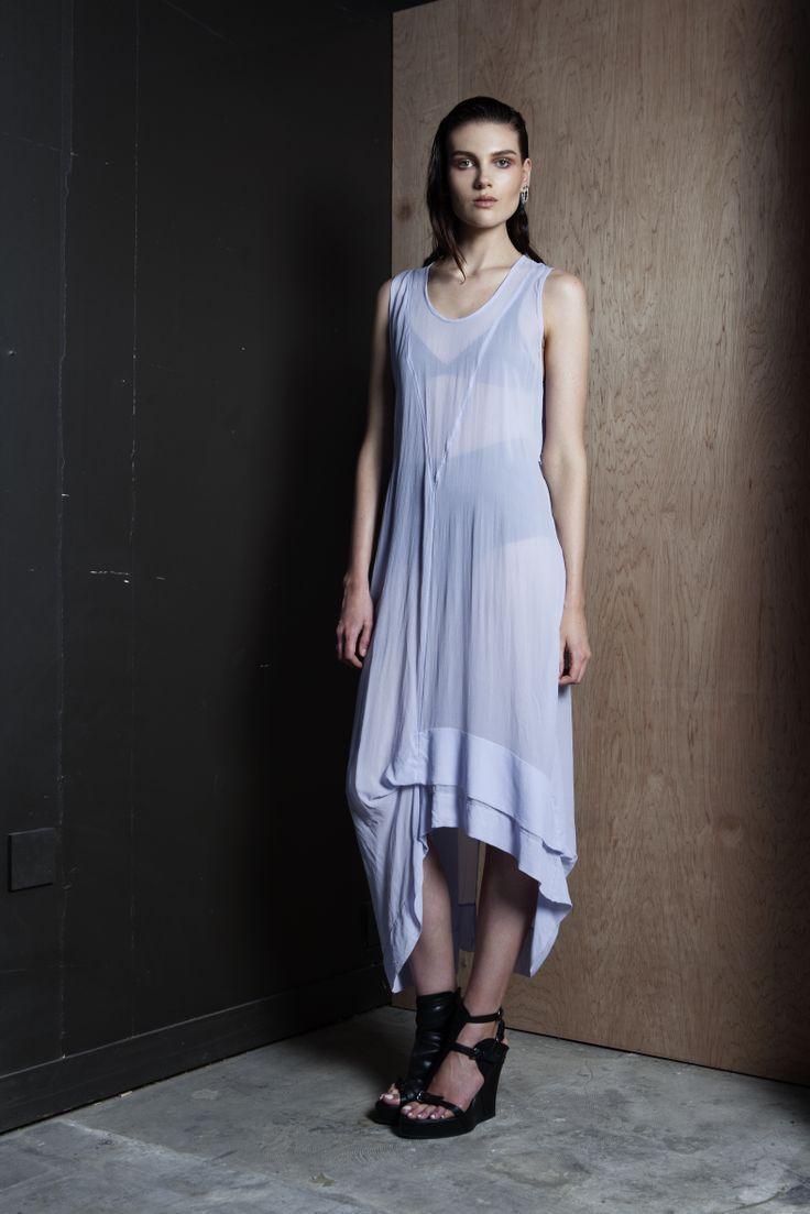 Lovers Dress  #silk #dress #asymmetry #summer #companyofstrangers