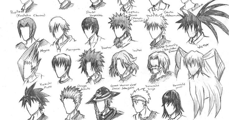 Boy Hairstyle Drawings In 2020 Anime Hair Anime Hairstyles Male Anime Boy Hair