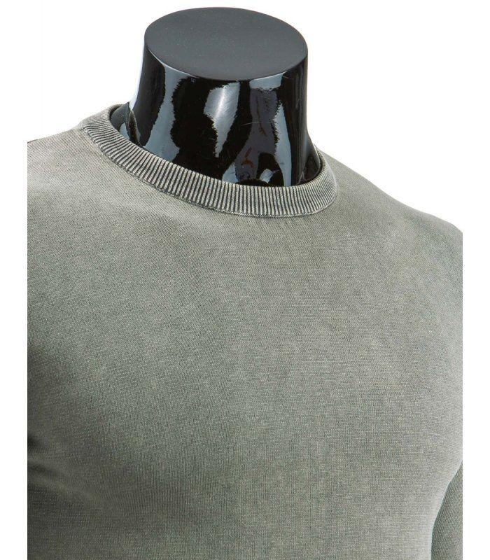 Pánsky šedý sveter