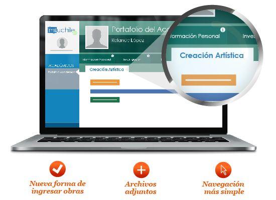 Portafolio Académico mejora el registro de obras de Creación Artística en la Universidad. Ver más en http://uchile.cl/u106973